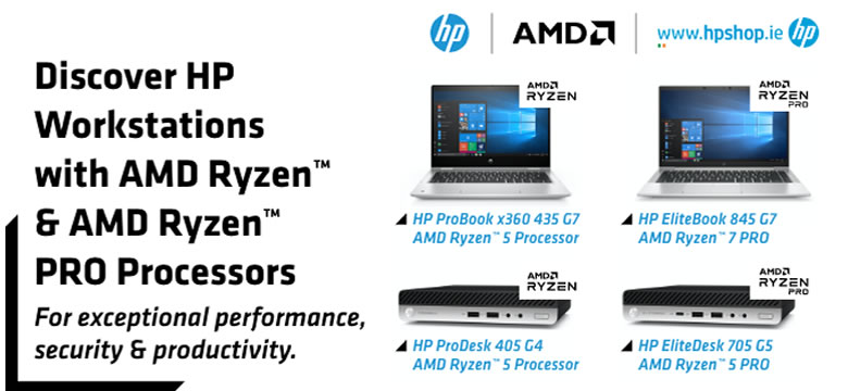 HP Workstations with AMD