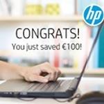 Get up to €100 Cashback on original HP Toner